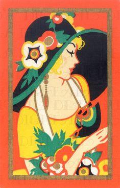 New vintage illustration art deco Ideas Retro Poster, Vintage Posters, Vintage Art, Art Deco Illustration, Vintage Illustrations, Art Nouveau, Inspiration Art, Art Deco Posters, Art Deco Artwork