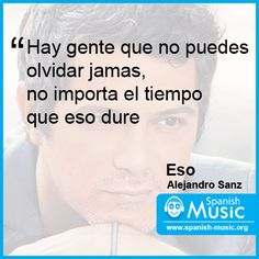 Alejandro Sanz - Eso http://www.spanish-music.org/videos/alejandro-sanz-eso-music.php