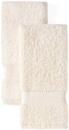 $3.99 Classic Towel Collection 2 pack Hand Towel - Ivory - Pure 550 gram Ringspun Cotton - Get a Bath Towel or a Set of 2 Hand towels or a Set of 6 Wash Cloths - all for the same incredibly low price - Colors available - White, Ivory, Kinen, & Chocolate - Each item sold separately not a set  From Cotton Craft   Get it here: http://astore.amazon.com/ffiilliipp-20/detail/B0048FVQL0/179-2075626-0794519