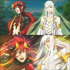 Kamigami no Asobi Wallpaper of their God Form - Characters ...