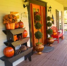 Waiting for Fall: Planning an Autumn Porch | | Blissfully DomesticBlissfully Domestic