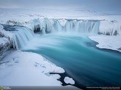 ice waterfalls
