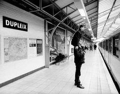 Mises en scènes du nom des stations du métro de Paris metro paris litteral 17 photographie bonus