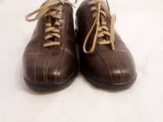 Cole Haan Nike Air Mens 7.5W Leather Sneaker Casual lace up Shoes