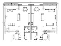 duplex Duplex Plans, Duplex House Design, Stained Concrete, My House, I Am Awesome, House Plans, Floor Plans, Construction, Patio