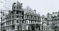 The Gilded Age Era: The Cornelius Vanderbilt II Mansion, New York City