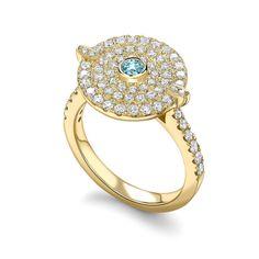 Friday sparkle #fantasycollection #ring #bluetopaz #yellowgold #diamonds #friday #weekend #jewellery #jewelry #jewels #luxury #luxurydaily #britishdesign #kikimcdonough #inspiration