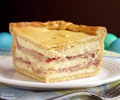 Pizza Gain (also known as Pizzagaina, Pizza Rustica, or Pizza Chiena) is an Italian Easter Pizza that is unlike any pizza you have ever tasted. Forget the tomato sauce, this filled pizza is more like a cheese and salami pie with a pizza crust. Easter Recipes, Holiday Recipes, Holiday Foods, Holiday Treats, Pizzagaina Recipe, Pizza Gain, Easter Brunch, Easter Food, Easter Dinner