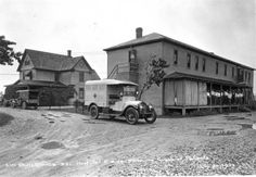 In 1917, a 97-bed hospital building was constructed on the corner of Jepson St. and Fourth Ave. Heated by coal-fired boilers, it had an emergency room, an operating room, a kitchen, and an isolation tent outside the grounds. In 1958, a police-escorted convoy transported the patients to a new, larger hospital. After renovations, The Salvation Army Eventide Home opened in 1960. Canada 150: Niagara Then and Now. Niagara Falls Public LIbrary.