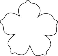 free flower template for the summer