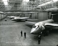 On 24 December piloted by Handley Page's chief test pilot Hedley Hazelden, made its maiden flight, which lasted for a total of 17 minutes.Ten days later, the Air Ministry announced the aircraft's official name to be Victor. Handley Page Victor, Navy Aircraft, Ww2 Aircraft, Military Jets, Military Aircraft, War Jet, V Force, South African Air Force, Avro Vulcan