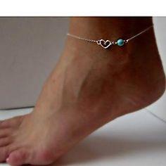 tobilleras aleación shixin® de las mujeres de la moda (20cm ... – MXN $ 33.65