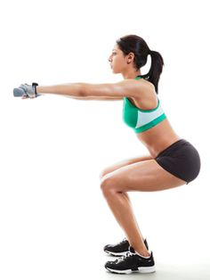 How to Make Your Butt Look Good in a Bikini - the 6 #workout moves you need #fitness