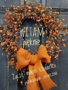 Burlap Wreath, Good Morning, Wreaths, Halloween, Home Decor, Beauty, Buen Dia, Decoration Home, Bonjour