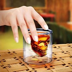 Drinkglas Kristallen Schedel – EUR € 4.79