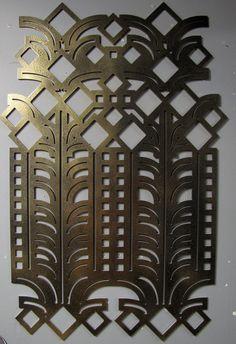 deco metal wall art