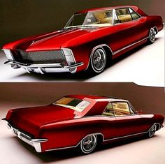 Custom Muscle Cars, Custom Cars, Vintage Cars, Antique Cars, 1965 Buick Riviera, Automobile, Buick Cars, Roadster, American Classic Cars