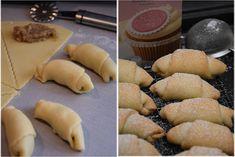 Ořechové rohlíčky ze zakysané smetany Mango, Potatoes, Sweets, Cheese, Vegetables, Manga, Gummi Candy, Potato, Candy
