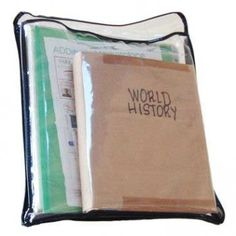 The Subject Sleeve is a tough, clear, vinyl pouch perfect for holding a spiral notebook or 3-ring binder, homework folder, and most textbooks. Because of the clear design, students can easily locate and grab a single subject out of their locker or backpack. http://theorganizingtutor.com/students-and-parents-will-love-the-subject-sleeve/