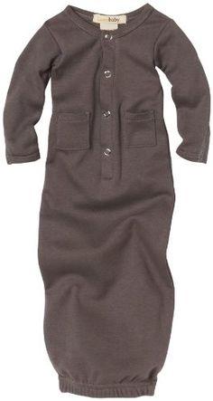 Cutest! Amazon.com: L'ovedbaby Unisex-baby Newborn Gown, Gray, Newborn: Clothing