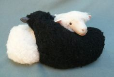 Irish Sheep Galway Entwined Twins by Colinscreatures on Etsy, $87.00