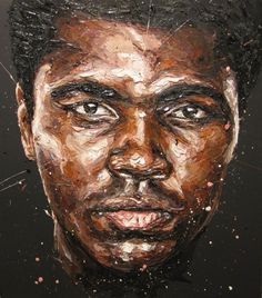 The emotion is trapped in the art. Ali is in all my paintings, even the ones where you can't see him. The influence is pure.