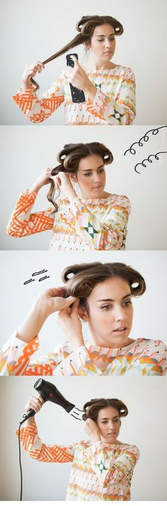She Lets Her Hair Down: Tutorial :: On her head... Part 2