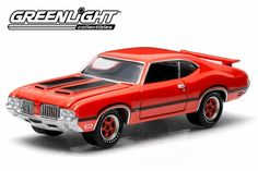 1:64 scale 1972 Oldsmobile Cutlass 442 – by Greenlight Collectibles
