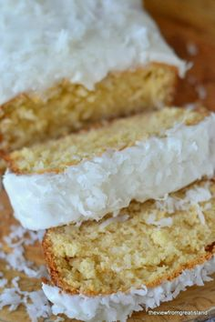 The best coconut pound cake ever!