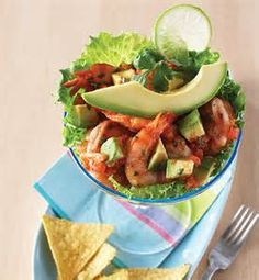 Tex-Mex Shrimp cocktail