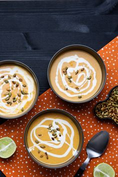 Pumpkin Soup: A warm and creamy low-carb pumpkin soup, perfect for the season. Great for lunch or as an appetizer.