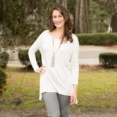 PIKO: Wear It Anywhere Top - Ivory