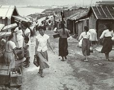 Photo by Yim, Eung-sik 1950 (Refugee Camp)