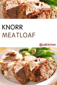 Meatloaf Recipes Bread Crumbs Elegant Made with Bread Crumbs Ground Beef Egg Milk Ve Able Easy Meatloaf Recipe With Bread Crumbs, Meat Loaf Recipe Easy, Easy Bread Recipes, Banana Bread Recipes, Recipes With Knorr Soup, Knorr Vegetable Recipe Mix, Red Cabbage With Apples, Red Cabbage Recipes