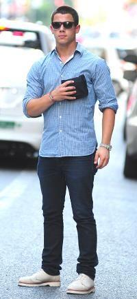 #StreetStyle with Nick Jonas #MensFashion #JerseyBoys