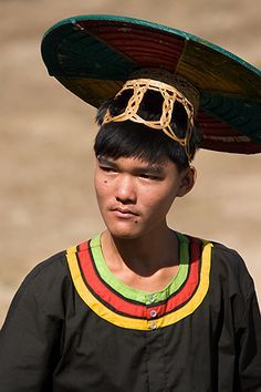 Young Cambodian in Traditional Costume