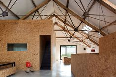 The Ochre Barn - beautiful barn conversion from the design team at the London based studio Carl Turner Architects.