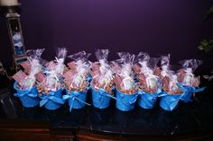 """Tinplate Pails baby shower favors 
