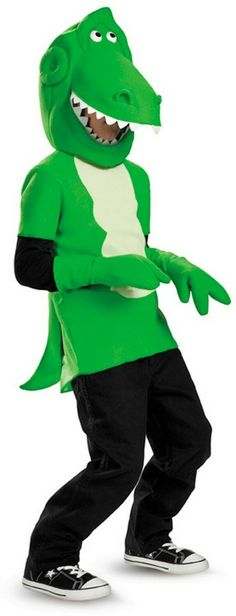 A dinosaur to love! The Toy Story Rex Costume