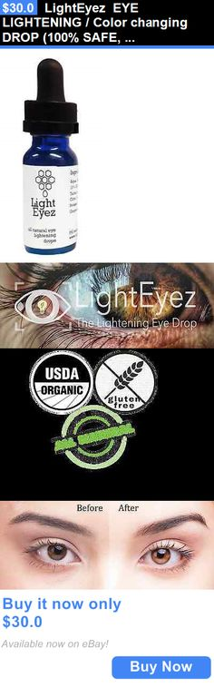 How To Lighten Eye Color Naturally Without Honey