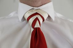 How To Tie a Tie Double Eldredge Knot - I feel like this can be used only in VERY specific situations, if any. Still looks cool though.