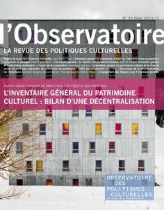 l'Observatoire. Nº 45 (hiver 2014-2015)