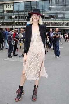 front row paris haute couture alta costura semanas de la moda otono invierno 2013 2014 - Elena Perminova