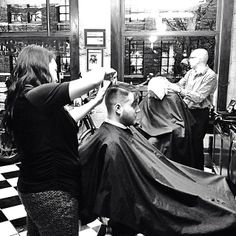 Friday barber shop snapshot: last clients of the day #barbers #barbershop #haircuts #mensgrooming #barbering #barberlife #yaletownbarbers #yaletown #vancouver #barbershops #blackandwhite Read more at http://web.stagram.com/n/barberboss/#wXzLfd43SRDYpSph.99 Shelley Salehi -@Farzad Bagheri's Barber Shop  Instagram photos | Webstagram