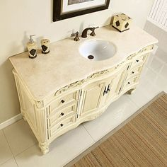 Shop Silkroad Exclusive Ella White Oak Undermount Single Sink Bathroom Vanity with Top (Common: 60-in x 22-in; Actual: 60-in x 22-in) at Lowes.com