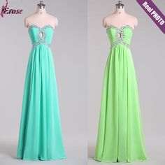 $39 - Latest Designs Prom Long Chiffon Cheap Evening Dress 2015 Lace-up Back Evening gown