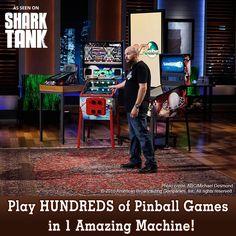 VPCABS Virtual Pinball - #1 Virtual Pinball Machine company in the Universe! Specializing in Virtual Pinball, Arcade and Custom Machines / Cabinets. Shark Tank.
