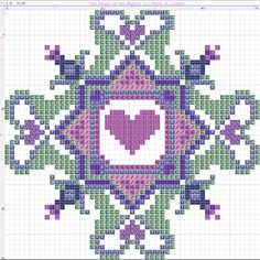 Small cross stitch pattern – Page 5 – Embroiderbee's Primary Hive Small Cross Stitch, Cross Stitch Heart, Cross Stitch Borders, Cross Stitch Designs, Cross Stitching, Cross Stitch Patterns, Biscornu Cross Stitch, Free Cross Stitch Charts, Cross Stitch Cards