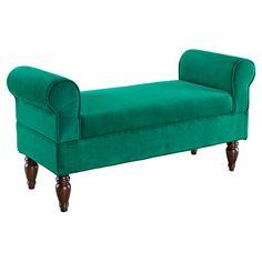 Linon Lillian Upholstered Bedroom Bench