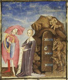 Illumanu15th century (first quarter?) France?      Paris, Bibliothèque nationale de France   Français 606: L´Epistre d'Othea by Christine de Pisan